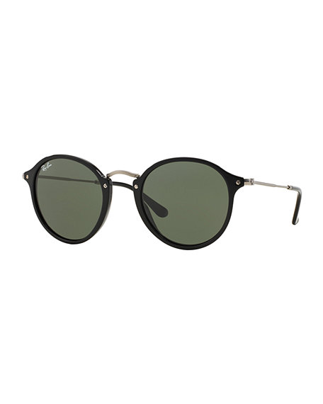 Ray Ban ROUND PLASTIC/METAL SUNGLASSES