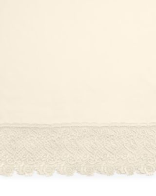 Pom Pom At Home Annabelle Lace Edged Linen Sheets