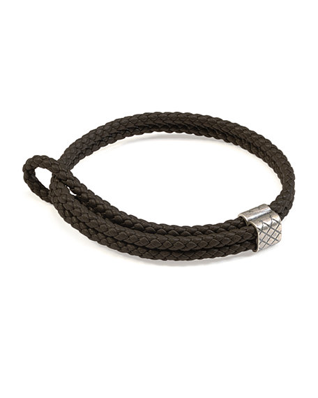 bracelet veneta carousell on p bottega photo intrecciato grey luxury double