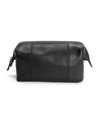 Image 1 of 6: Men's Frame Leather Travel Kit