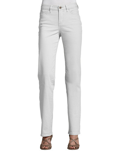 Christopher Blue Madison Straight-Leg Twill Pants