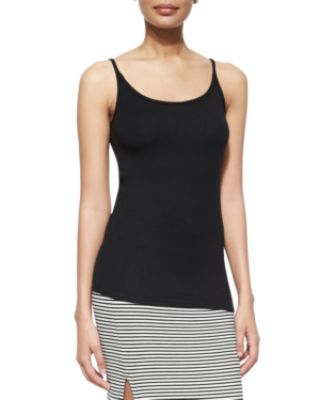 Image 1 of 2: Long Slim Ribbed Cami