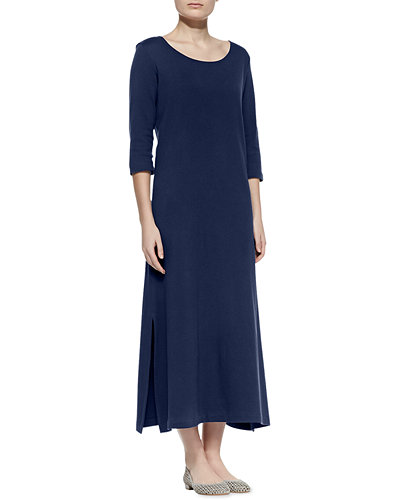 Plus Size Interlock Easy Maxi Dress