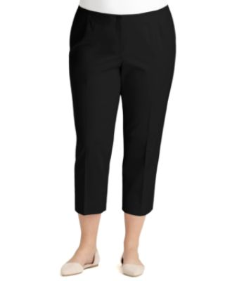 Bleecker Cropped Pants, Plus Size