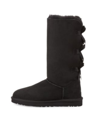 UGG BAILEY TALL BOW-BACK BOOT, CHESTNUT