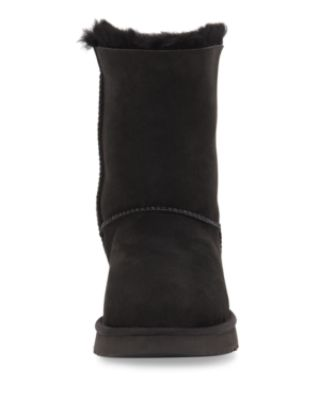 Women'S Bailey Bow Ii Boots, Black Suede