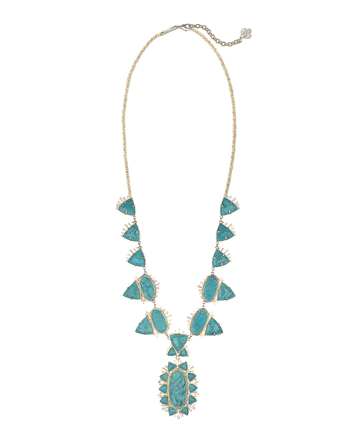 Havana Long Necklace, Iridescent