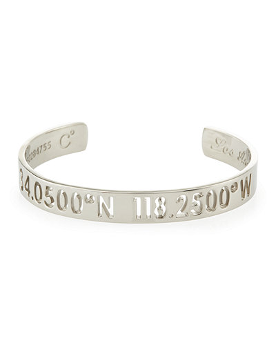 Coordinates Collection 10mm Sky Bangle Bracelet