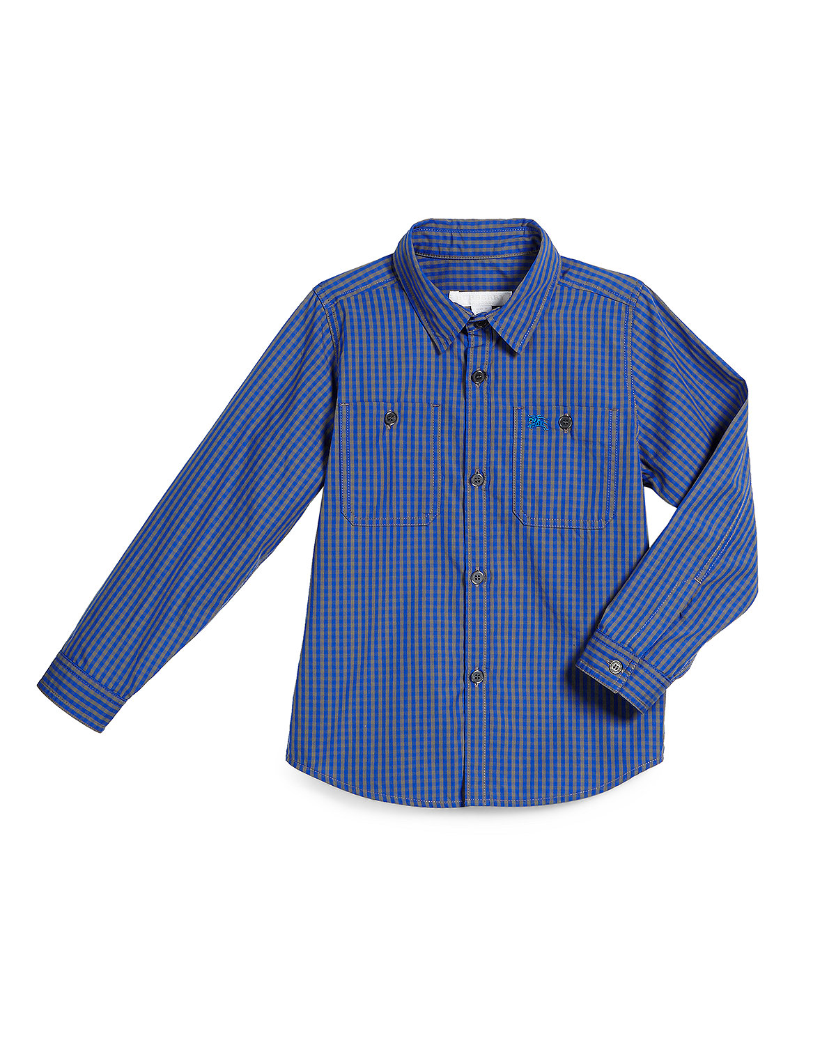 Mini Camber Check Shirt, Size 4-14