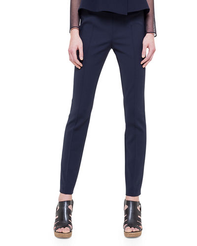 Slim Ankle-Cut Pants