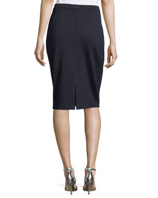 Image 2 of 3: Milano Knit Pencil Skirt