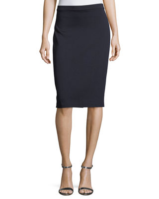 Image 1 of 3: Milano Knit Pencil Skirt
