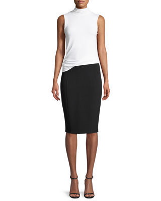 Image 4 of 4: Danielle Pencil Skirt