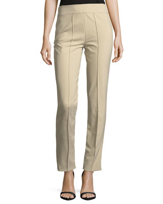 Image 1 of 2: Hepburn Slim Stretch Pants