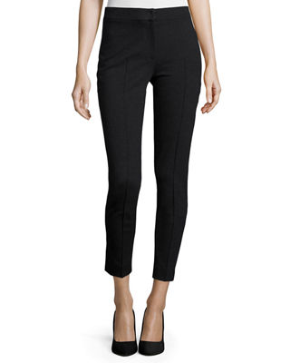 Akris punto Mara Skinny Knit Pants & Striped