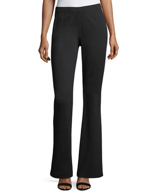 St. John Collection Kasia Milano Knit Flare-Leg Pants