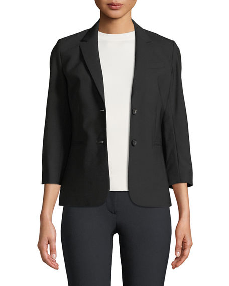 THE ROW New Schoolboy Two-Button Blazer