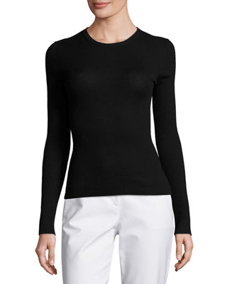 Michael Kors Collection Long-Sleeve Cashmere Sweater