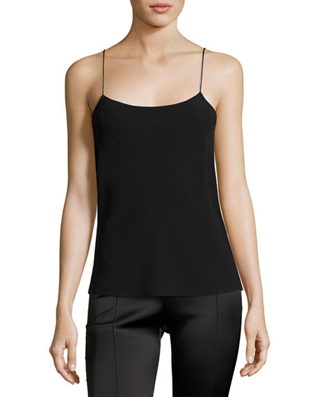 Image 1 of 4: THE ROW Biggins Square-Neck Camisole
