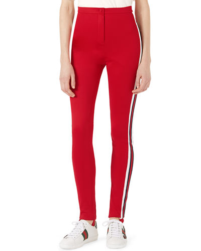 Jersey Stirrup Leggings with Sylvie Web
