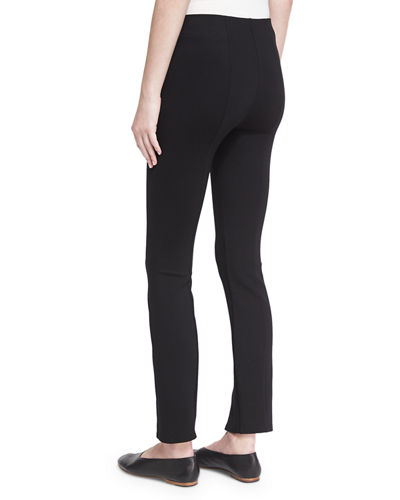 THE ROW Thilde Slit-Front Skinny Pants