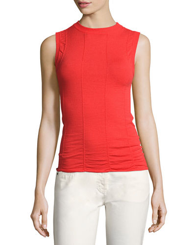 Slavia Knit Shell Top