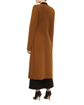 Double-Face Cashmere Duster