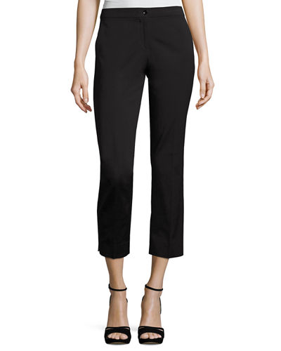 Etro Faille Cropped Straight-Leg Pants and Matching Items