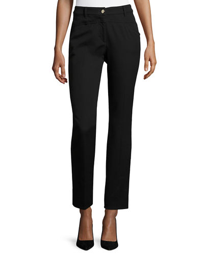 Escada J501 Cropped Straight-Leg Jeans and Matching Items