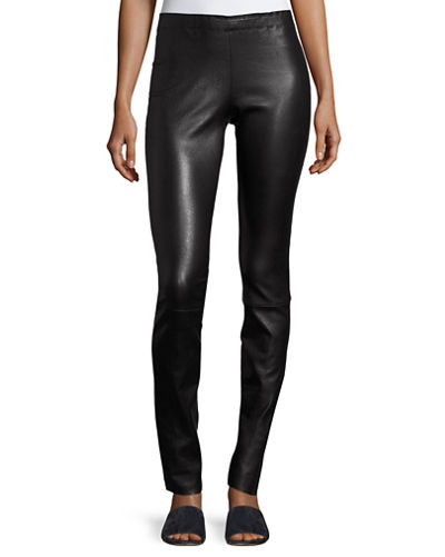 Jo Skinny Lambskin Leather Leggings