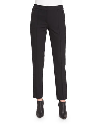 Escada Tusko Straight-Leg Ankle Pants