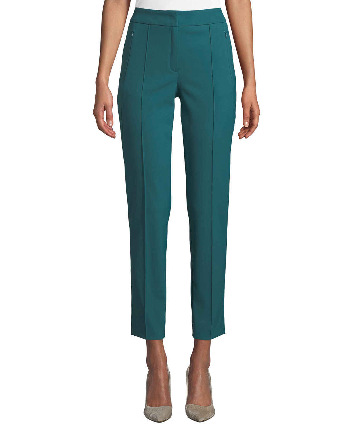 Tusko Straight-Leg Ankle Pants