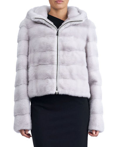 Mink Fur Cropped Jacket