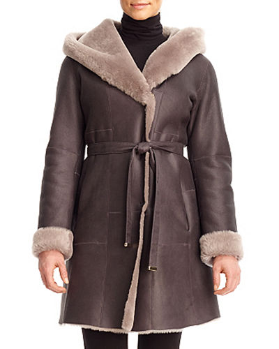 Reversible Lamb Shearling Parka