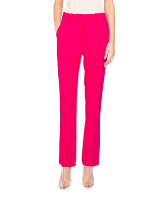 Givenchy Straight-Leg Cady-Stretch Pants and Matching Items &