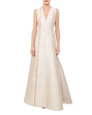 A Line Evening Gown Neiman Marcus