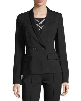 Escada Double-Breasted Jersey Blazer and Matching Items &