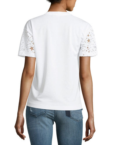 Short-Sleeve Burnout Stars T-Shirt