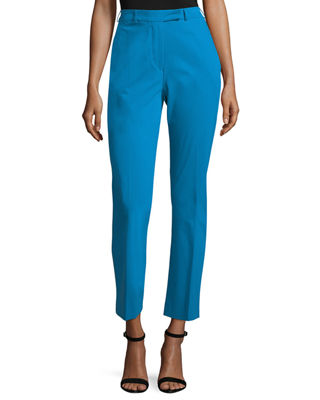 Etro Straight-Leg Ankle Pants