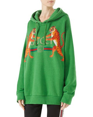 Gucci Logo Hooded Sweatshirt