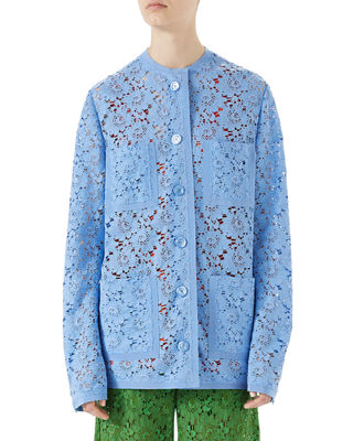 Gucci Flower Lace Jacket and Matching Items &