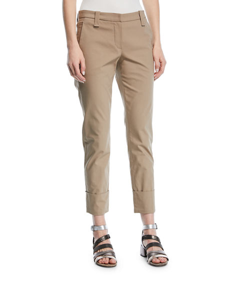 Cotton pants Brunello Cucinelli Hyper Online Free Shipping Largest Supplier Up To Date eE88t