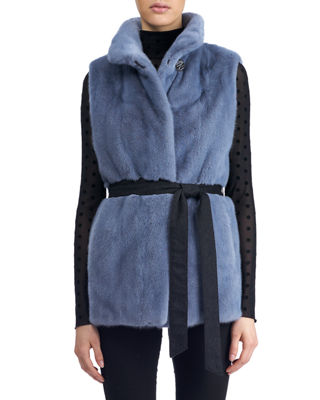 Reversible Mink Fur Vest