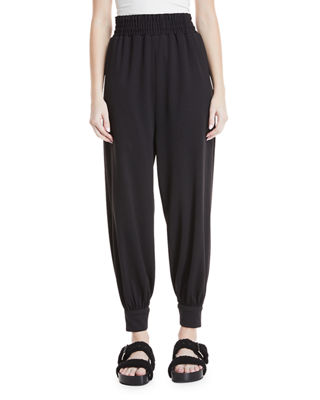 Tapered-Legs Pull-On Jogger Pants