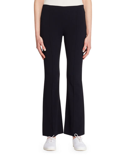 Beca Side-Zip Flared-Leg Pants