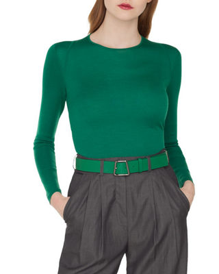 Akris Cashmere/Silk Pullover Sweater