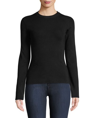Riddi Crewneck Long-Sleeve Top