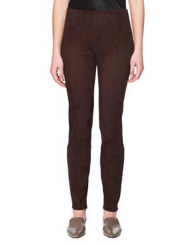 Cosso Skinny Suede Pants