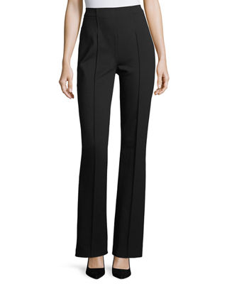 Escada Talisana High-Waist Flare-Leg Pants