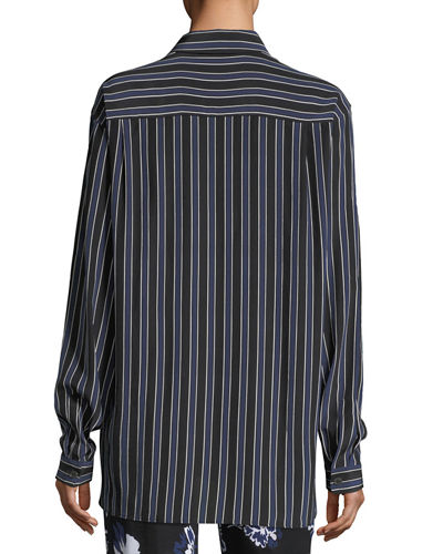 Pajama Stripe Shirt